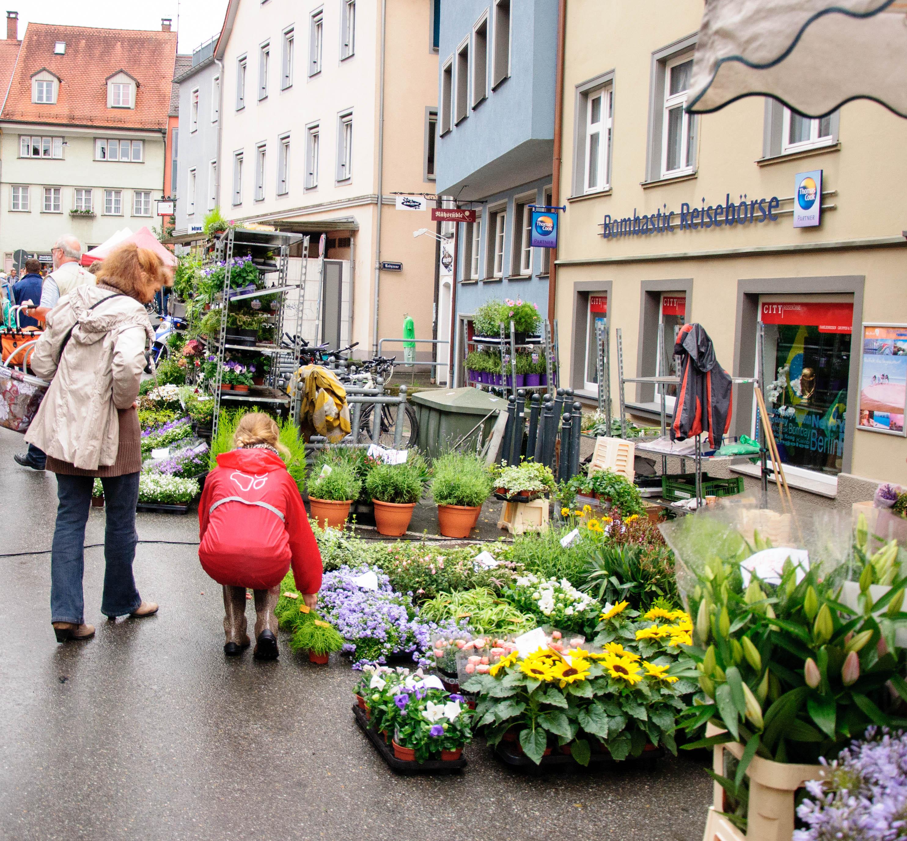 Субботний рынок в Германии