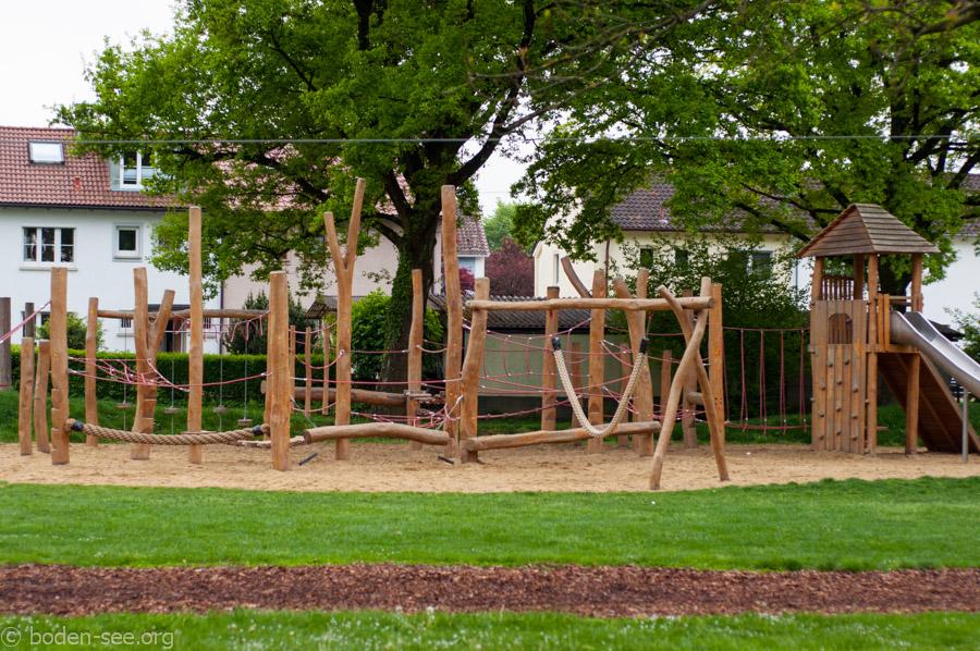 школьная игровая площадка