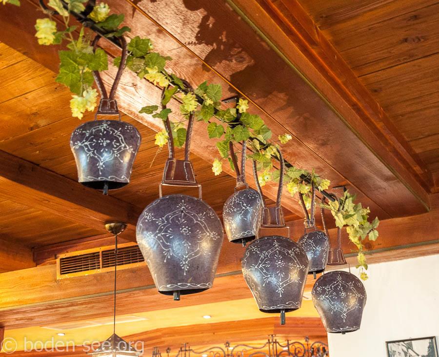 Колокольчики в ресторане Lochmühle в  Ульме