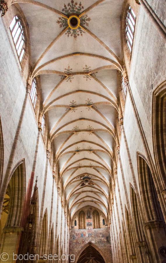 свод собора Ulmer Münster