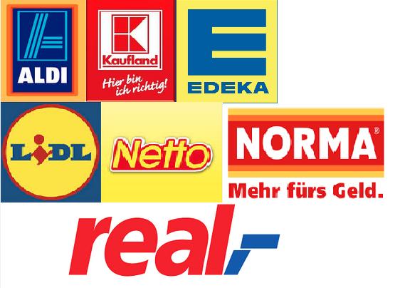 Продовольственные магазины в Германии