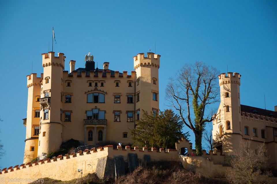 Замок Хохеншвангау