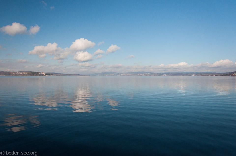Боденское озеро по пути в Цюрих