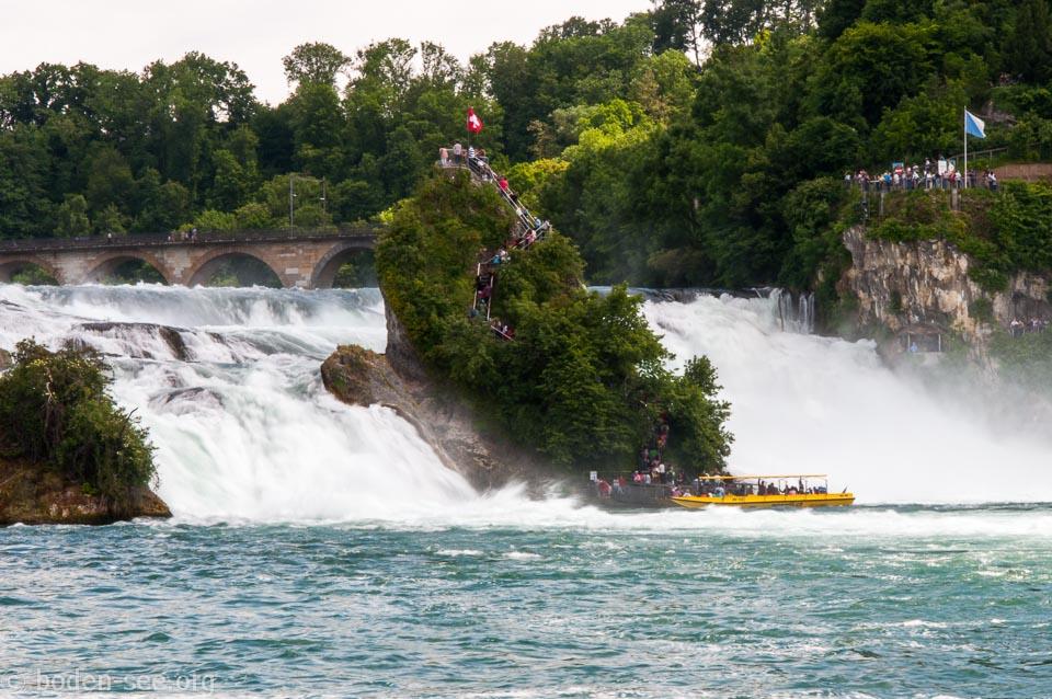 Боденское озеро. Рейнский водопад.