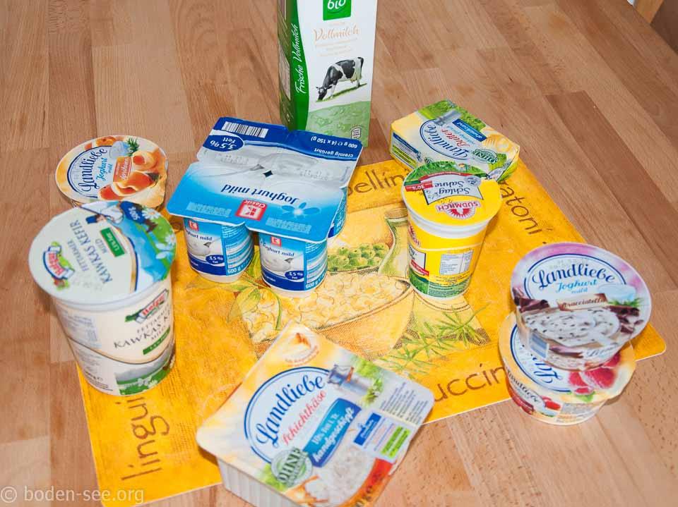 Молочные продукты в Германии