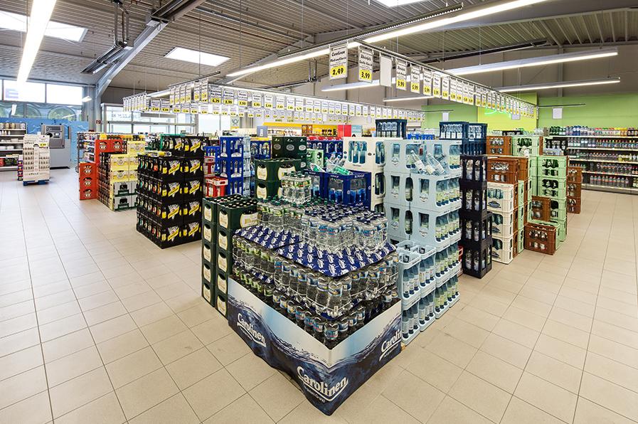 магазин напитков в Германии