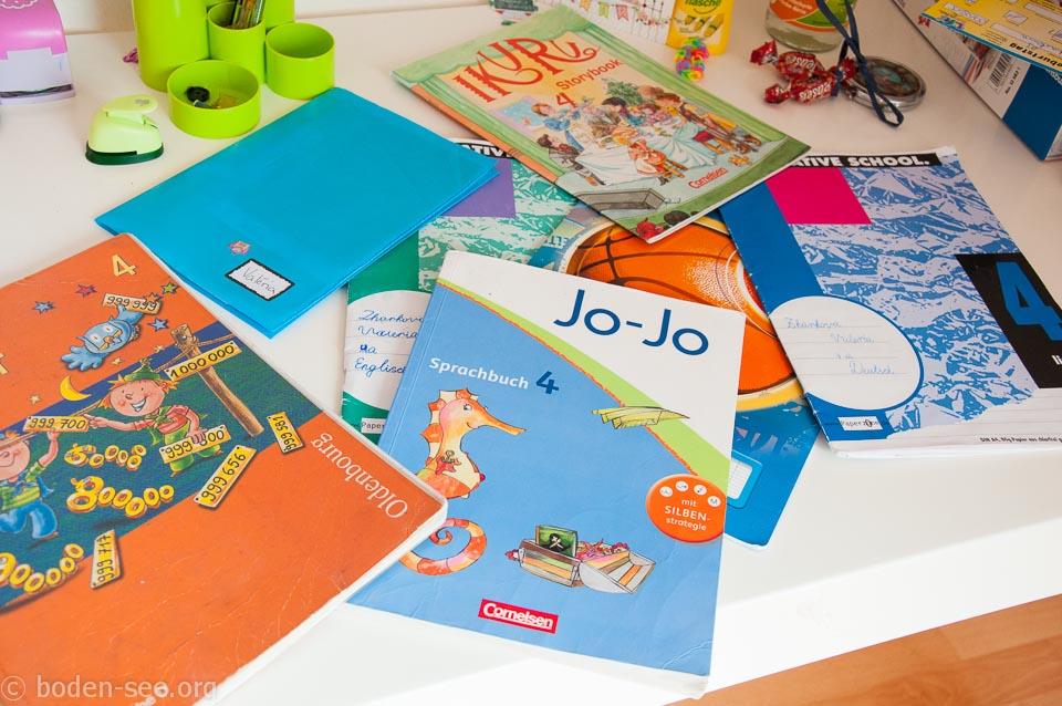 учебники в немецкой школе
