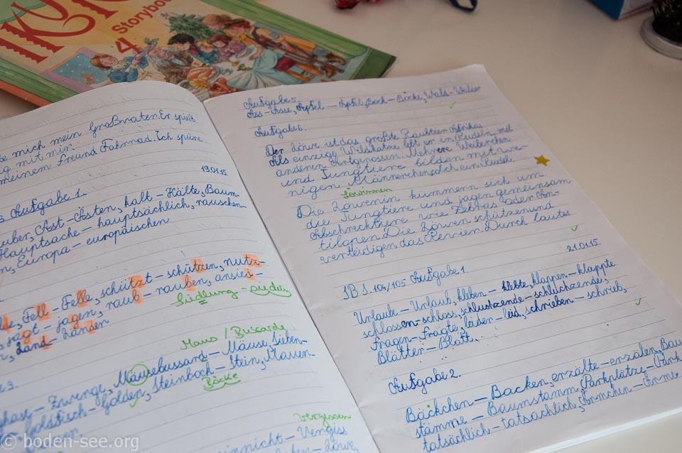 немецкий язык в немецкой школе