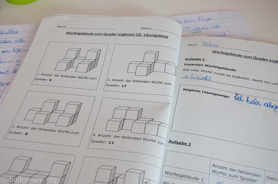 математика в немецкой школе