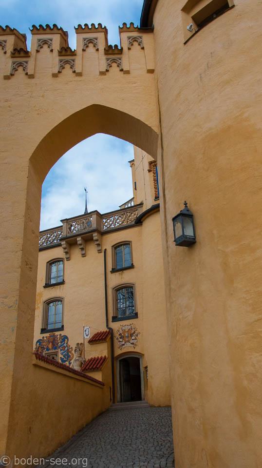 Замок баварского рода Швангау