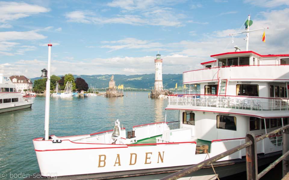 катамаран на Боденском озере