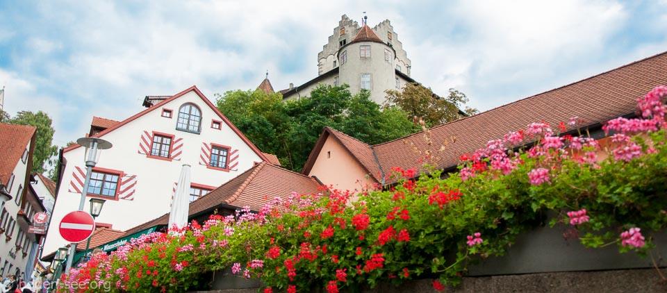 Вид на Старый замок в Меерсбурге