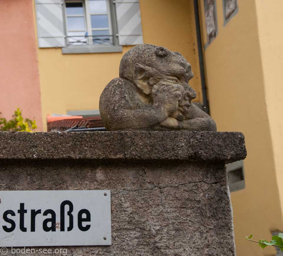 Маленькая гаргулья в Меерсбурге