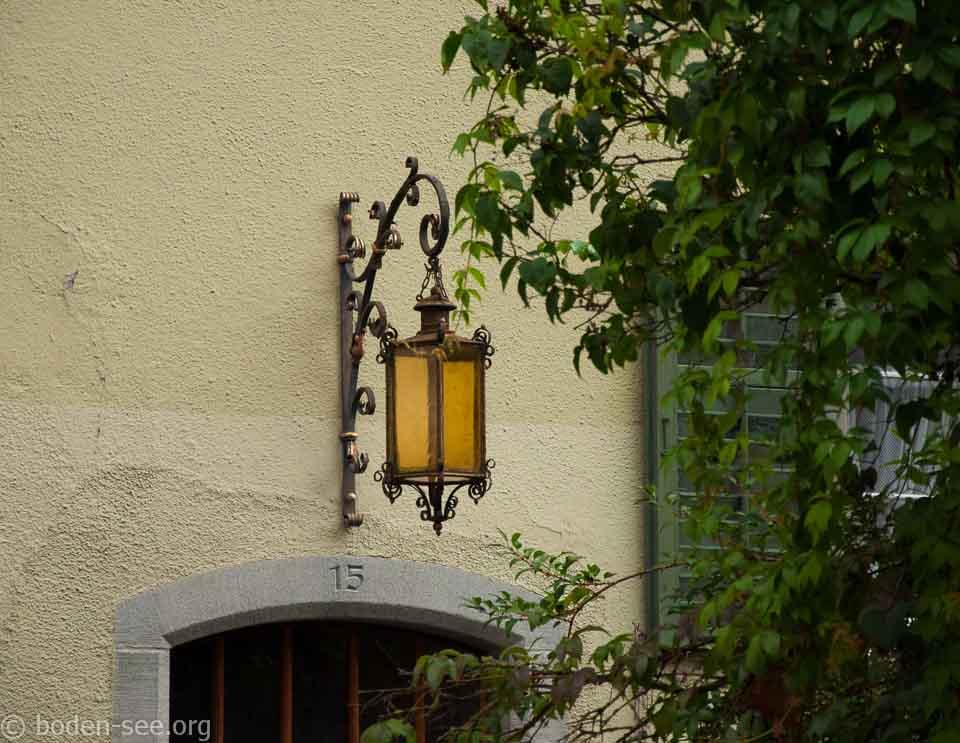 Фонарь в Меерсбурге