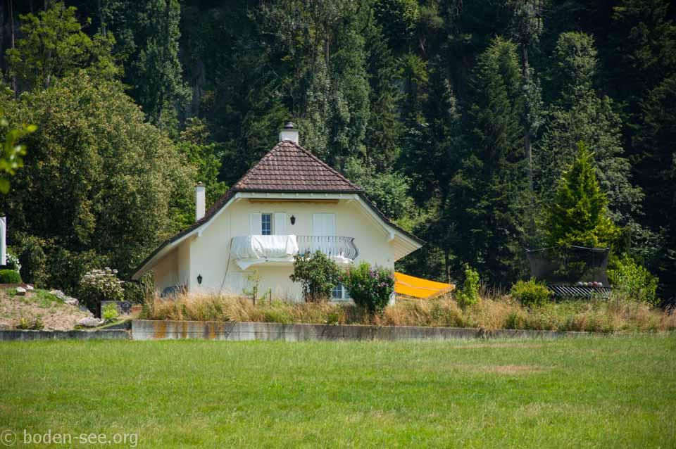 домик рядом с озером Badesee, Лихтенштейн