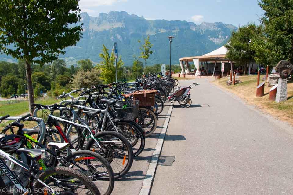 парковка для велосипедов, Лихтенштейн