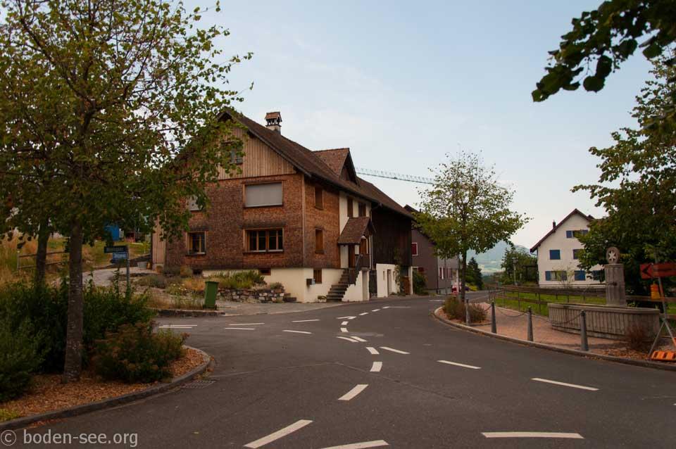 извилистая дорожка, Лихтенштейн