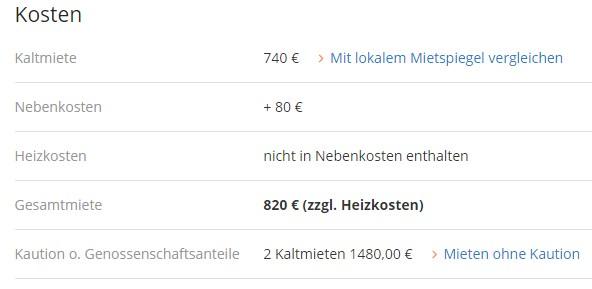 стоимость аренда квартиры в Германии