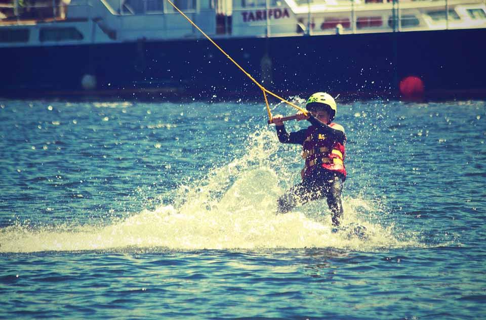 водные лыжи боденское озеро