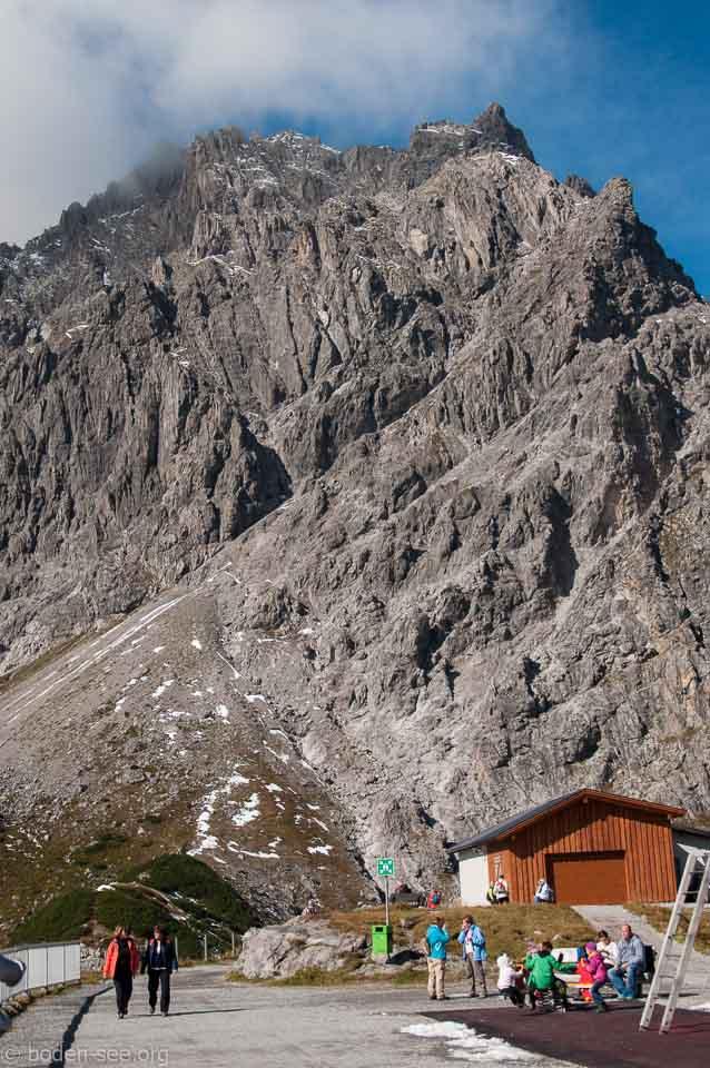 Зеекопф - блюжайшая к Люнерзее вершина
