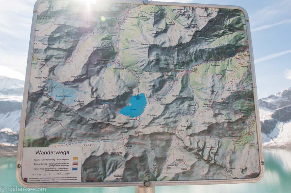 Прогулочные маршруты вокруг озера Люнерзее