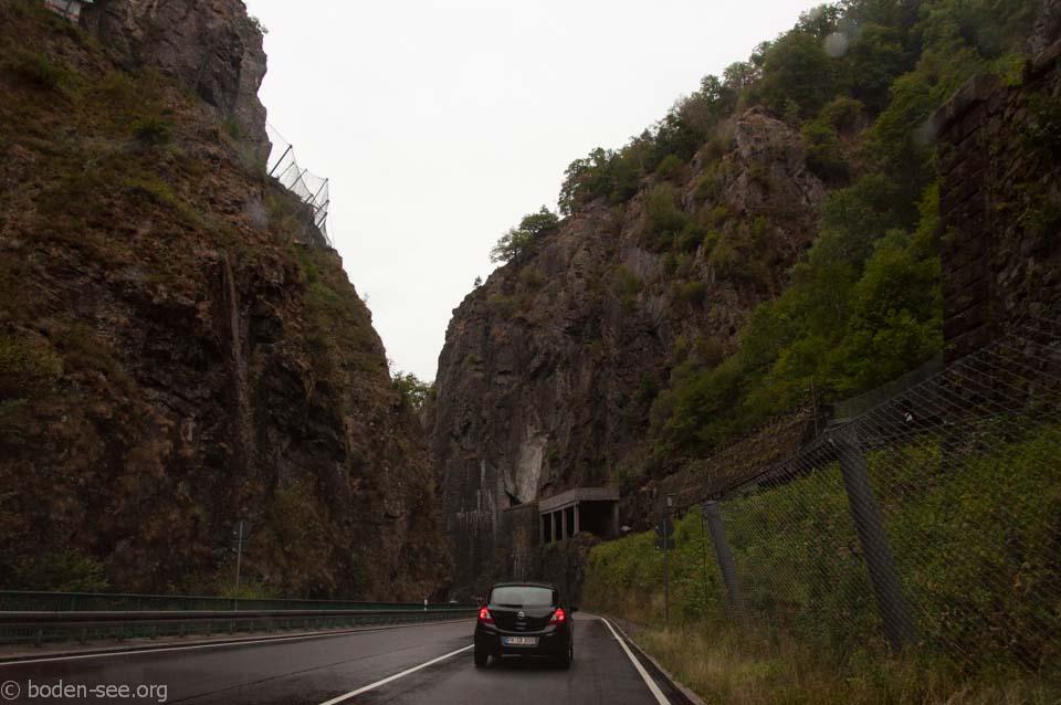 в горах Германии