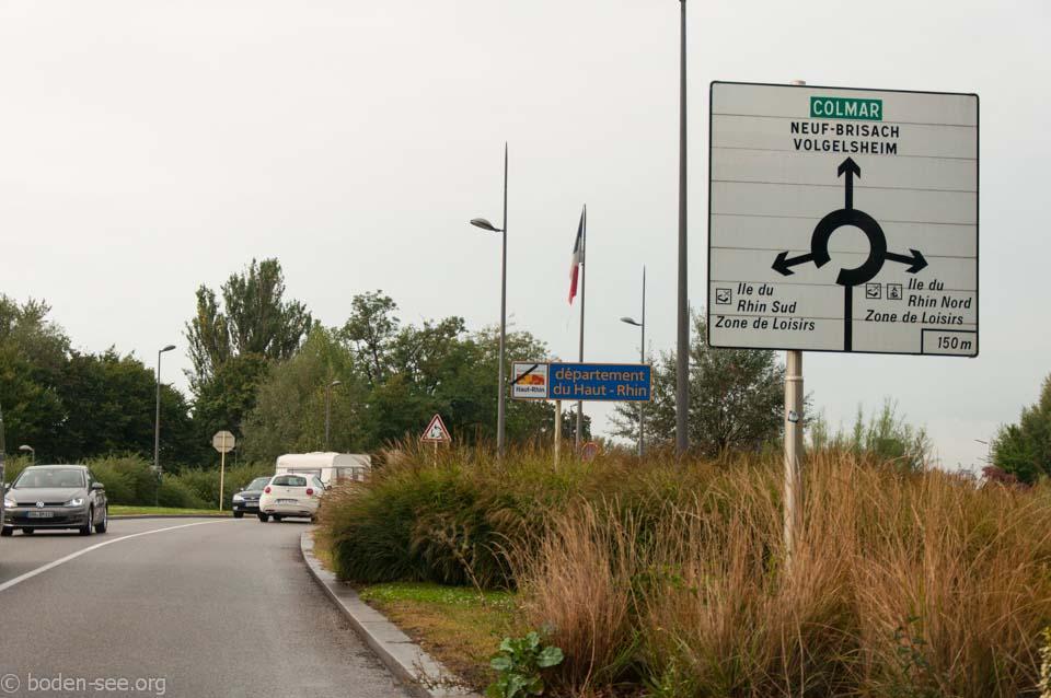 дорога на Кольмар, Франция
