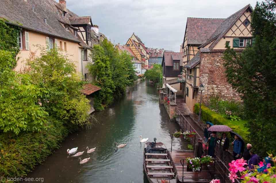 канал в Кольмаре, Франция