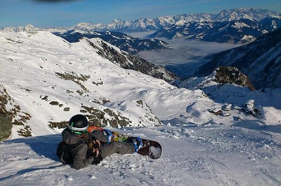 сноуборд, боденское озеро