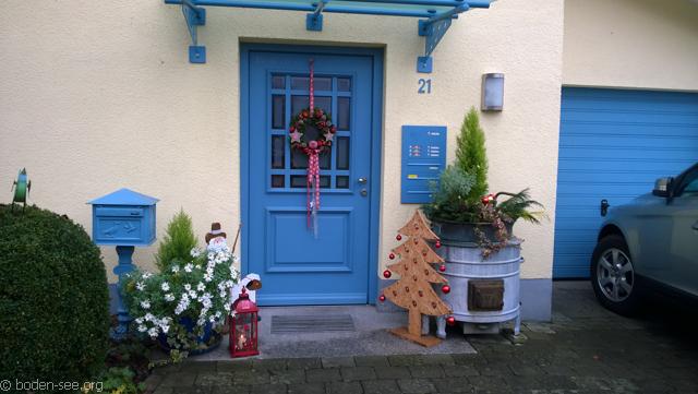 украшения около домов в германии