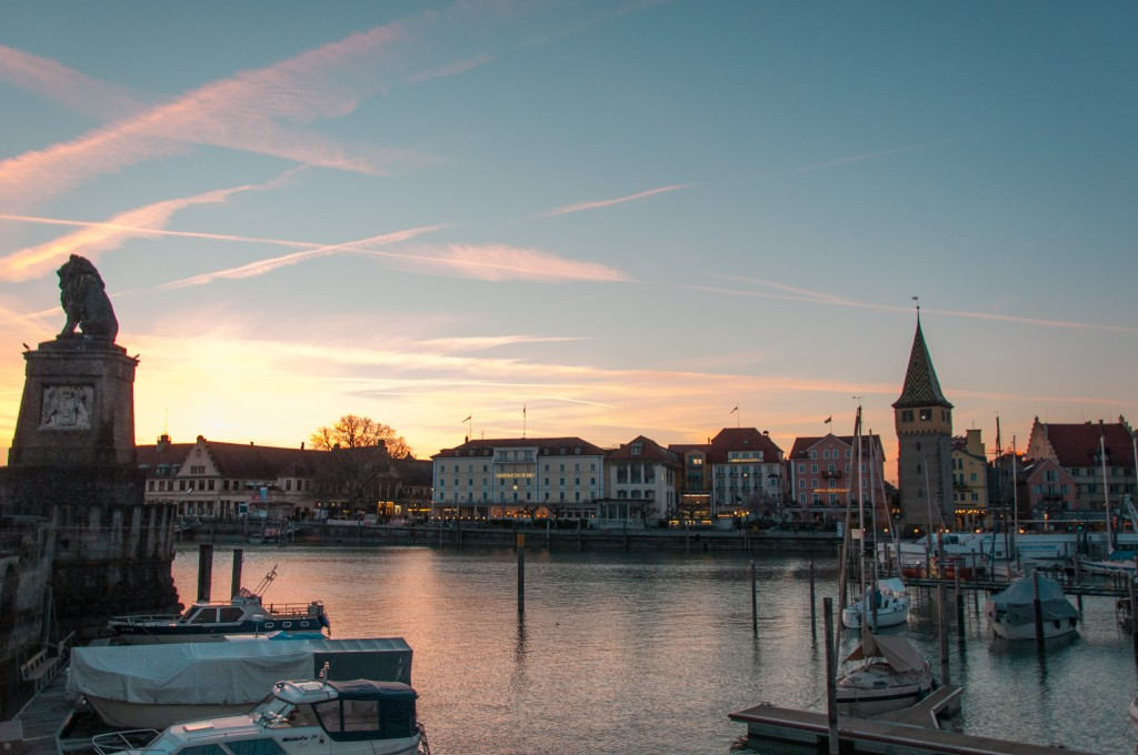 Lindau sunset