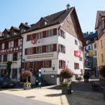 Живописный центр старого города, Арбон, Швейцария