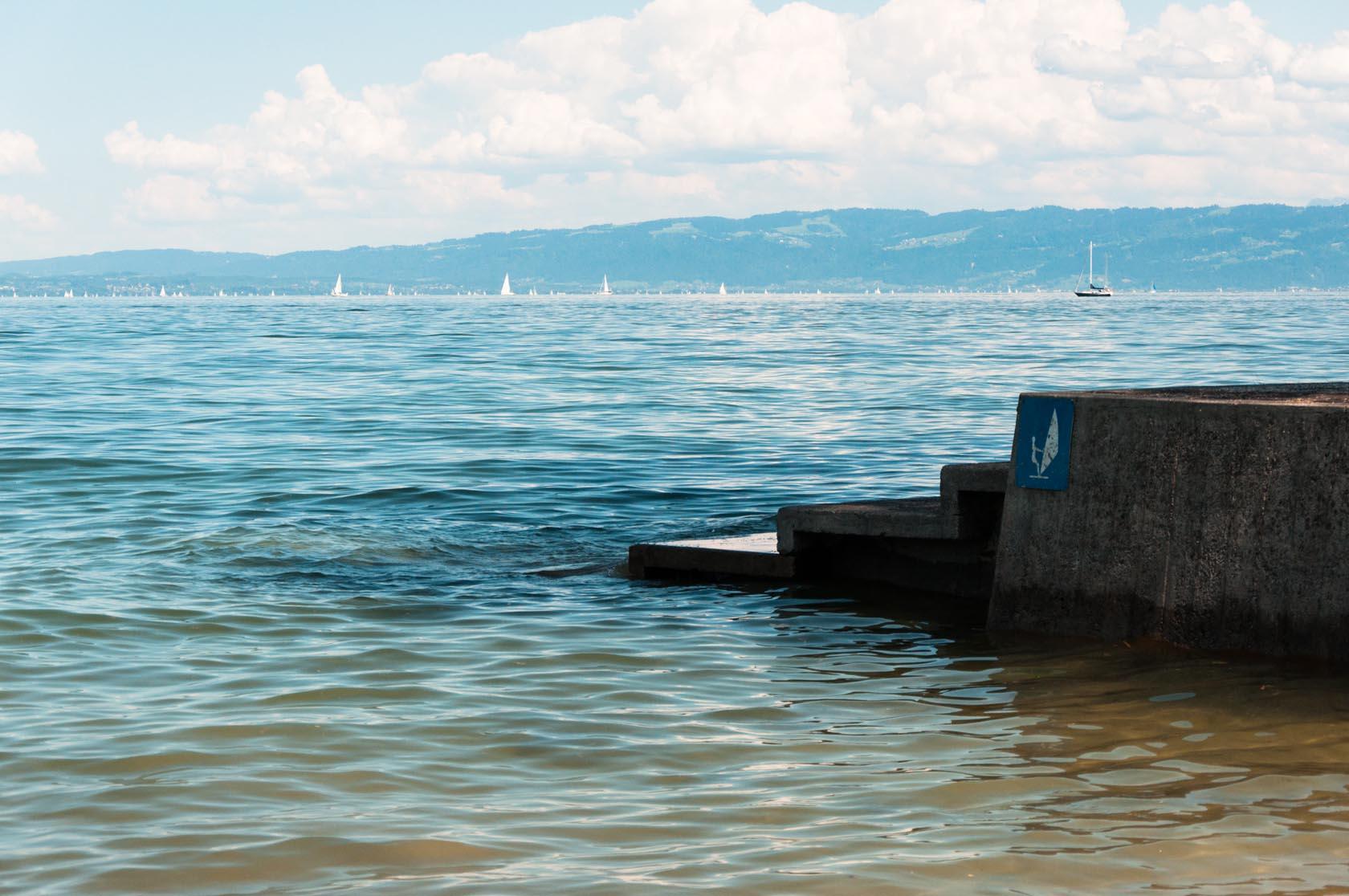 Площадка для виндсерфинга, Боденское озеро